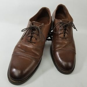 Johnston & Murphy Brown Cap Toe Oxford 59 11826